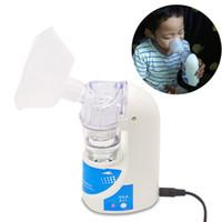 Beurha 110V / 220V Home Cuidados de Saúde Adulto Cuidados Inspiração Inale Máquina Nebulizador Portátil Automizador Inalador Beleza Saúde