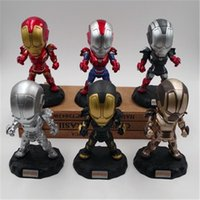 Marvel The Avengers Capitan America Iron Man Action PVC Figure da collezione Model Movies Toy for Kids Action Figure Giocattoli per bambini