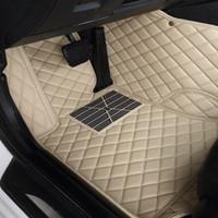 Para Mitsubishi Outlander Sport 2013 ~ 2018 tapetes de cuero para automóviles Alfombrilla impermeable
