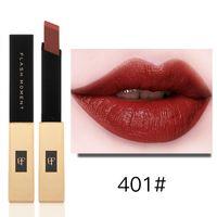 FlashMoment Gold 6 colori Opzionale Super Liquid Red Velvet Lip Gloss Completamente 3D Lip Glaze Lips Beauty Waterproof Makeup