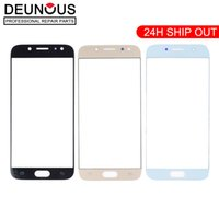 Front LCD touch screen outer glass lens replacement for sams...