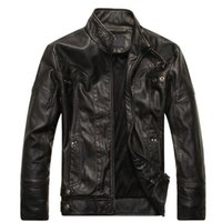 Explosive men' s leather autumn and winter plus velvet f...