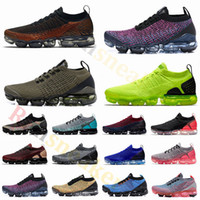 Nike Air Max Vapormax 2.0 Fly 3.0 Knit Laufschuhe Cool Grey Tiger Volt Purple Herren Trainer Damen Designer Cushion Sneakers Sportschuhe Größe 5.5-12