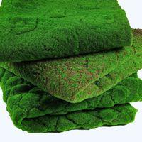 100 * 100CM موس الاصطناعي وهمية النباتات الخضراء مات فو موس ستريت العشب العشب لمتجر الرئيسية الباحة الديكور الخضار