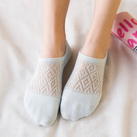 10 pieces = 5 pairs Lingge female socks summer ultra- thin so...