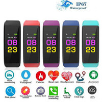 ID 115 Plus Étanche Smart Bracelet Sport Montre Smart Watch Fréquence Cardiaque Tracker Fitness Bracelets Intelligents Pour Android IOS SmartBand