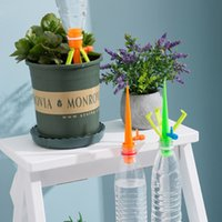 Einstellbarem Durchfluss Gießkannen Regelventil Automatische Blumenzuführung Wassertropfhausgarten Blume Pflanze Bewässerung Ausrüstungen dropship