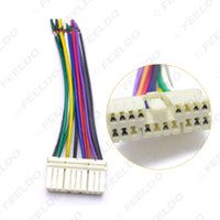 Bil Audio Radio Stereo Wiring Harness Adapter Man Plug för Daewoo Ssang Yong Actyon / Korando Chevrolet Spark # 5691