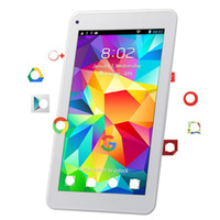 Tablettes pour enfants 7 'PC 1 Go + 16 Go Android 6.0 HD 1080 P Quad Core Double tablette caméra Bluetooth Wifi Films Jeux Tablet
