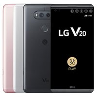 Rinnovato originale LG V20 H990N H910 VS995 5.7 pollici 1pcs Quad Core 4 GB di RAM 64GB ROM 16MP + 8MP 4G LTE Android Phone DHL