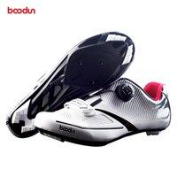 أحذية BOODUN MTB الدراجات الترياتلون سباق الدراجة الطريق أحذية رجالية جبل عاكس دراجات في الهواء الطلق حذاء رياضة Zapatos ciclismo