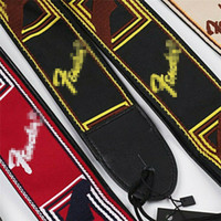 Ricamati Guitar Strap Fendr cinghie per chitarra elettrica acustica Ukulele Bass
