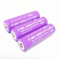 Новый 100% StoveFire 14500 800mAh 3.7V No. 5 Аккумуляторная батарея лития Бесплатная доставка