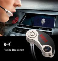 GT86 بلوتوث V2.1 شاحن سيارة USB مزدوج كيت مشغل MP3 لاسلكي الارسال مع تصميم عصري المحمولة شحن مجاني