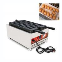 Ticari bir kez 18 adet Mini Balık Waffle Makinesi Popüler Café Restoran Kek Snack Ekipmanları Mini Balık Şekilli Taiyaki Kek Makinesi