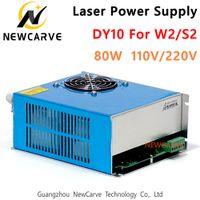 80W Laser Alimentation DY10 110V 220 V Pour Reci S2, W2 CO2 Laser Tube Machine de gravure NEWCARVE