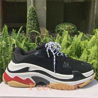 Platforme de Shoes Triple Beige Vert Jaune Vieux papa Hommes Femmes Baskets Chaussures Paris Chaussures  US 5.5-11