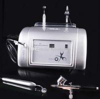 2 in 1 Wasser Sauerstoff Gesicht Maschine Jet Peel Sauerstoff Infusion Sauerstoffeindüsung SPA-Maschine für Gesichtsreinigung Akne Entfernung Hautverjüngung
