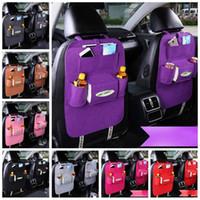 сумка для хранения автомобиля Multi-карманной сумка для хранения Организатор держатель аксессуаров Multi-карманного Путешествие Вешалки Backseat Организации повесить сумки YSY288-L