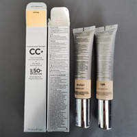 Макияж CC Face cream ваша кожа но лучше CC Cream Color Correcting Illumination Full Coverage cream Concealer SPF 50 Light Medium 32 мл