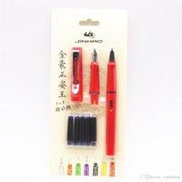 5pcs Encre bleue Jinhao 599 toutes les séries nouvelles Listing 2 costumes plume moyenne fines couleurs de stylo plume