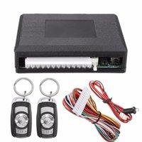New Hotsell Universal Car Télécommande centrale Accessoires électroniques antivol Kit de verrouillage de porte sans clé Système d'alarme