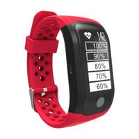 S908 oder GPS-Armband Herzfrequenzmesser Fitness Tracker Smart Watch IP68 wasserdicht Sport Passometer Smart-Armbanduhr für iPhone und Android