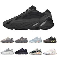 Adidas Yeezy Boost 700 V2 shoes 3M Reflective Vanta Analog Geode Inertia Static Kanye West Boost 700 V2 Wave Runner Running Shoes Mens Womens Mauve sports sneakers 36-46
