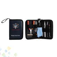 Autentico Demon Killer Tool Kit FAI DA TE RDA RBA Atomizzatore Vape Tools Con Pinzette Frese Pieghevole Scissor Cacciavite Ecig DHL Libero