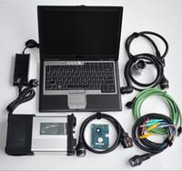 MB Estrela C5 SD Connect C5 Carro Diagnóstico 512G SSD MB Estrela C5 D630 Usado Laptop 2020.06V Soft-Ware Vediamo SCN Codificação