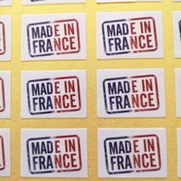 800pcs 25x18mm MADE IN FRANCE self- adhesive paper label stic...