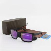 qualité luxury- TR90 cadre 9102 femmes hommes lunettes de soleil de marque Vassl été lunettes de soleil de luxe UV400 polarisée de 55mm de sport pour hommes avec la boîte