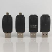 EGO 510 hilos cargador usb Adaptador vape Batería Cargador USB Compatible E-Cig Vaporizador Vape Pen precalentamiento de baterías ecig cargador usb