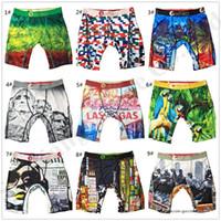Cueca homens Ethika Boxer Esporte Técnico Quick Dry Briefs Boxers Graffiti Impressão Shorts Leggings mulheres Praia Swim Trunks Calças u2