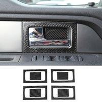ABS Auto-Innen Tuergriffabdeckung-Dekoration-Ordnung für Ford F150 Raptor 2009-2014 Car Interior Zubehör
