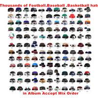 Neuer Sport-Großhandelshut-Team-Baseball-Hysteresen-Kappen-Basketball-Hysteresen-Fußball-beiläufige Hüte Mehr 5000 + Arten