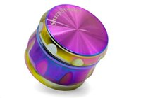 All'ingrosso Rainbow Diamand Sharp Chamfer Side Concavo tabacco smerigliatrice CNC SharpStone erba grinder Sharp Stone GRINDER