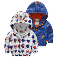 2019 Fashion Children Jackets Hooded cartoon Printed Jacket ...