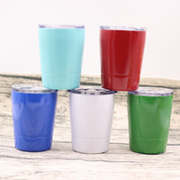 Hot!Cheapest Wine Mugs Stemless Tumbler Wine Glass 9oz Cups ...