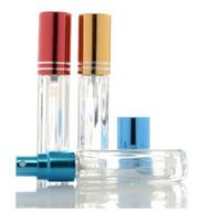 3ml vuoto Translucence Spray bottiglia di vetro trucco per profumo bottiglie riutilizzabili di spedizione Bottiglia di vetro veloce