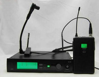 SLX14 WB98 UHF Professional نظام ميكروفون لاسلكي كاريوكي مع SLX Bodypack Transmitter BETA98 H / C Lavalier Clip Mic