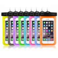 Custodie per sacchetti universali per borse ad acqua per iPhone Samsung Cell Phones