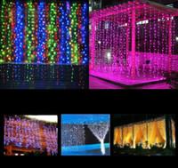 الجديدة بقيادة ستارة النافذة ضوء سلسلة أضواء الجنية حفل زفاف حديقة المنزل ستارة