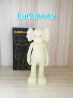 Luminou Kaw Sell Sell Poupée Moderne 20cm Mini Smlll Lie Companion Jouet Personnalisé Vinyle PVC Graffiti Art Action Figurines Statue Cadeau Original faux