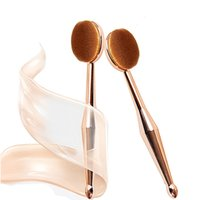 MAANGE Make-up Pinsel 1 STÜCK Zahnbürste Die neue Meerjungfrau Make-up Pinsel Foundation Oval Brushes One Set