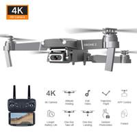 2020 Neue E68 WiFi FPV Mini Drohne mit Weitwinkel HD 4K 1080p Kamera Hight Hold Mode RC Faltbare Quadkopter DRON GEGENT 5PCS DHL