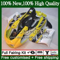 Thunderace for Yamaha YZF1000R 96 02 03 04 05 06 07 87MF18 YZF-1000R YZF 1000R 2002 2003 2004 2005 2006 2007 Geel Blk Fairing Carrosserie