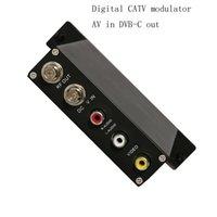 Freeshipping SCD2711 1080 P AV HD-MI do DVB-C Modulator Cyfrowy TV Headrend QAM RF Modulator DVB-C Modulator cyfrowy