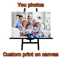 Personnaliser vos photos imprimer sur la toile Home Decorative Prints et des affiches pour le salon Home Decor