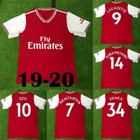 05b1cde3314 Wholesale soccer equipment for sale - Group buy New AUBAMEYANG Soccer  Jerseys LACAZETTE MKHITARYAN football shirts